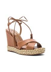 fe264c8846e Aquazzura Aquazzura Leather Paraty Espadrille Wedges | Shoes