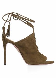 Aquazzura Mar Suede Heeled Sandals