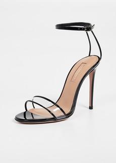 Aquazzura Minimalist 105mm Sandals
