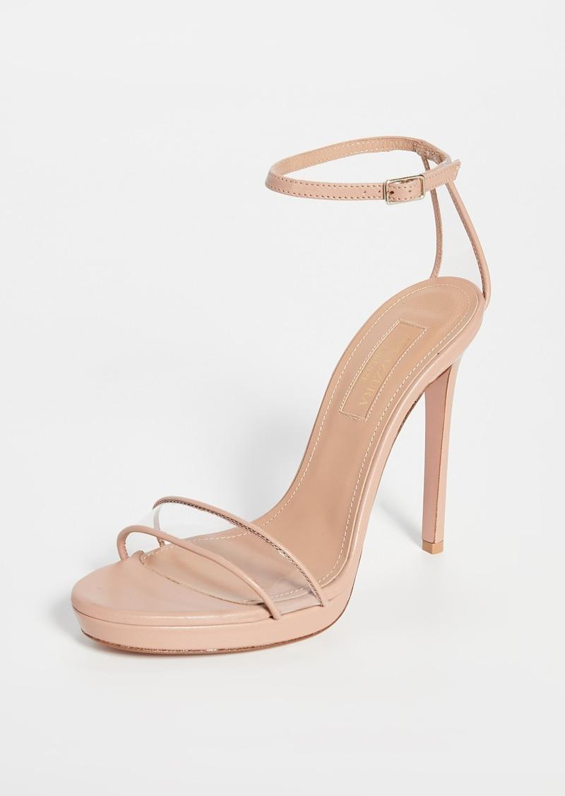 Aquazzura Minimalist 115mm Sandals