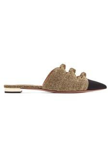 Aquazzura Mondaine knot-detail slipper shoes