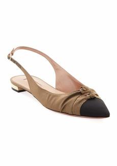 Aquazzura Mondaine Slingback Ballet Flats