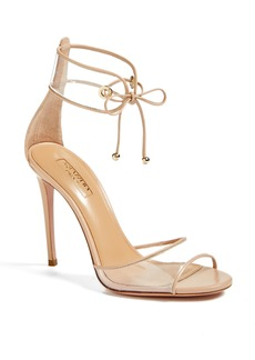 Aquazzura Optic Clear Ankle Tie Sandal (Women)