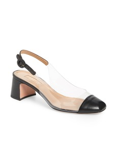 Aquazzura Optic Clear Slingback Pump (Women)