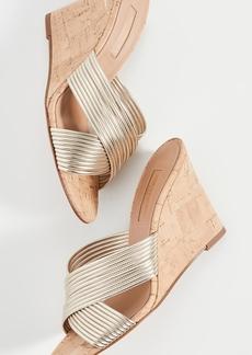 Aquazzura Perugia Wedge Sandals 85mm