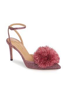 Aquazzura Powder Puff Ankle Strap Pump (Women)