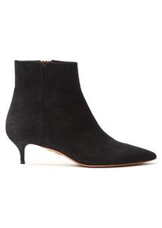 Aquazzura Quant suede ankle boots