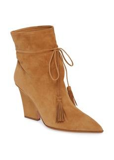 Aquazzura Sartorial Block Heel Bootie (Women)