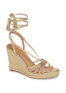 Aquazzura Savannah Wedge Sandal (Women)