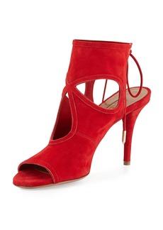 Aquazzura Sexy Thing Suede 105mm Sandal
