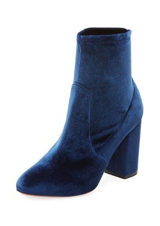 Aquazzura So Me Velvet 85mm Bootie