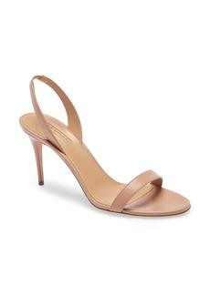 Aquazzura So Nude Slingback Sandal (Women)