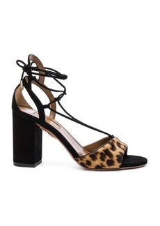 Aquazzura Suede Austin Sandals
