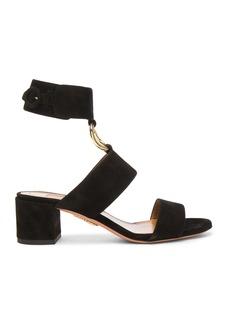 Aquazzura Suede Safari Sandals