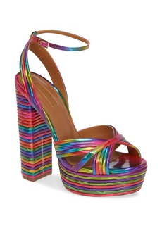 Aquazzura Sundance Platform Sandal (Women)