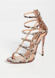 Aquazzura Super Model 105mm Sandals