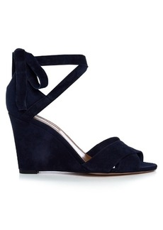 Aquazzura Tarzan suede wedge sandals