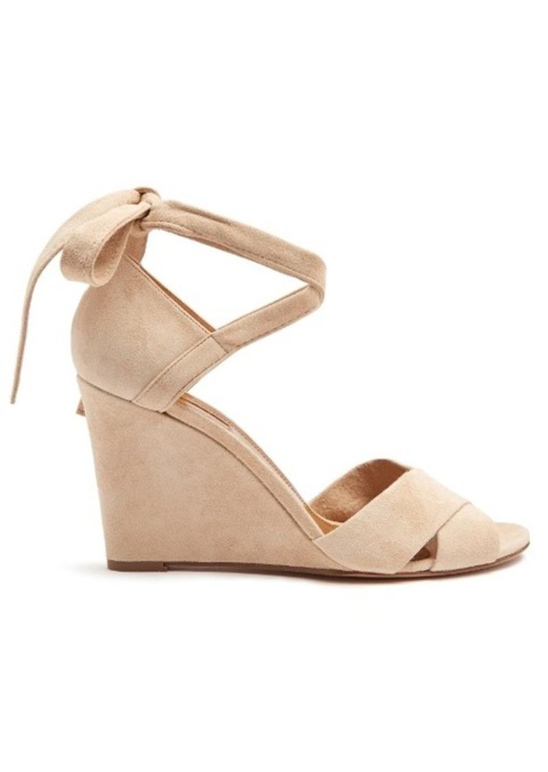 178f62748f4 SALE! Aquazzura Aquazzura Tarzan suede wedge sandals