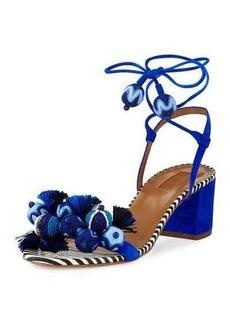 Aquazzura Tropicana Beaded 50mm Sandal