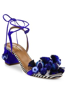 Aquazzura Tropicana Multitoned Sandals