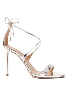 Aquazzura Very Linda 105 leather sandals