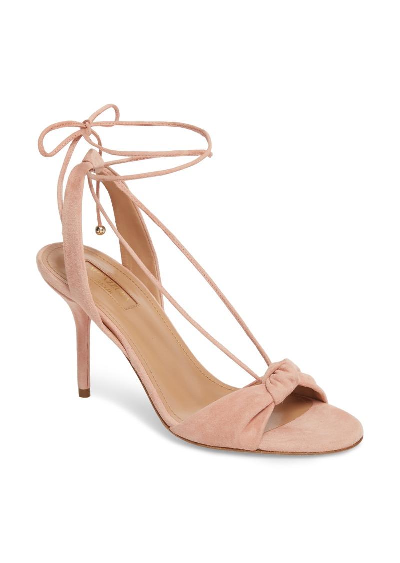Aquazzura Virginie Lace-Up Sandal (Women) (Nordstrom Exclusive)