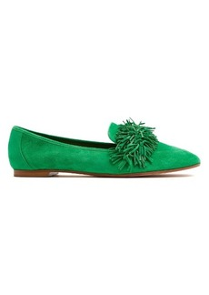 Aquazzura Wild Thing suede loafers