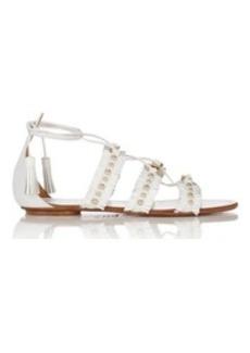 Aquazzura Women's Tulum Lace-Up Sandals