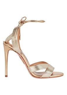 Aquazzura Ari 105 Ankle Wrap Sandals
