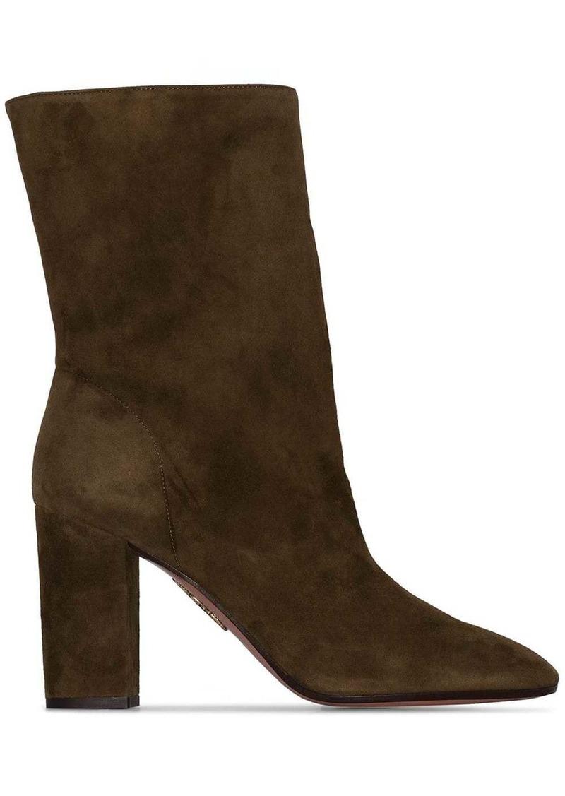 Aquazzura Boogie 85mm slouch boots