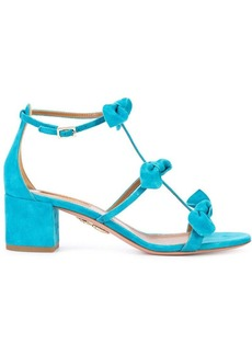 Aquazzura bow detail sandals