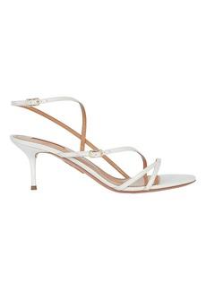Aquazzura Carolyne 60 Leather Sandals