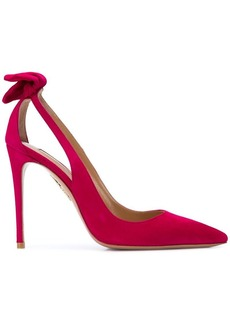 Aquazzura cut out pumps