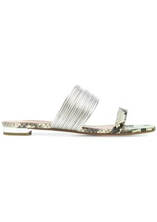 Aquazzura flat strappy sandals