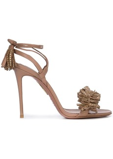 Aquazzura fringed sandals