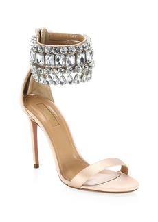 Aquazzura Gem Palace Sandals