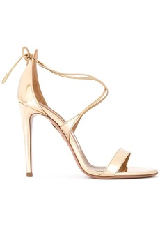 Aquazzura Linda patent leather sandals