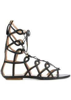 Aquazzura Mumbai Gladiator sandals