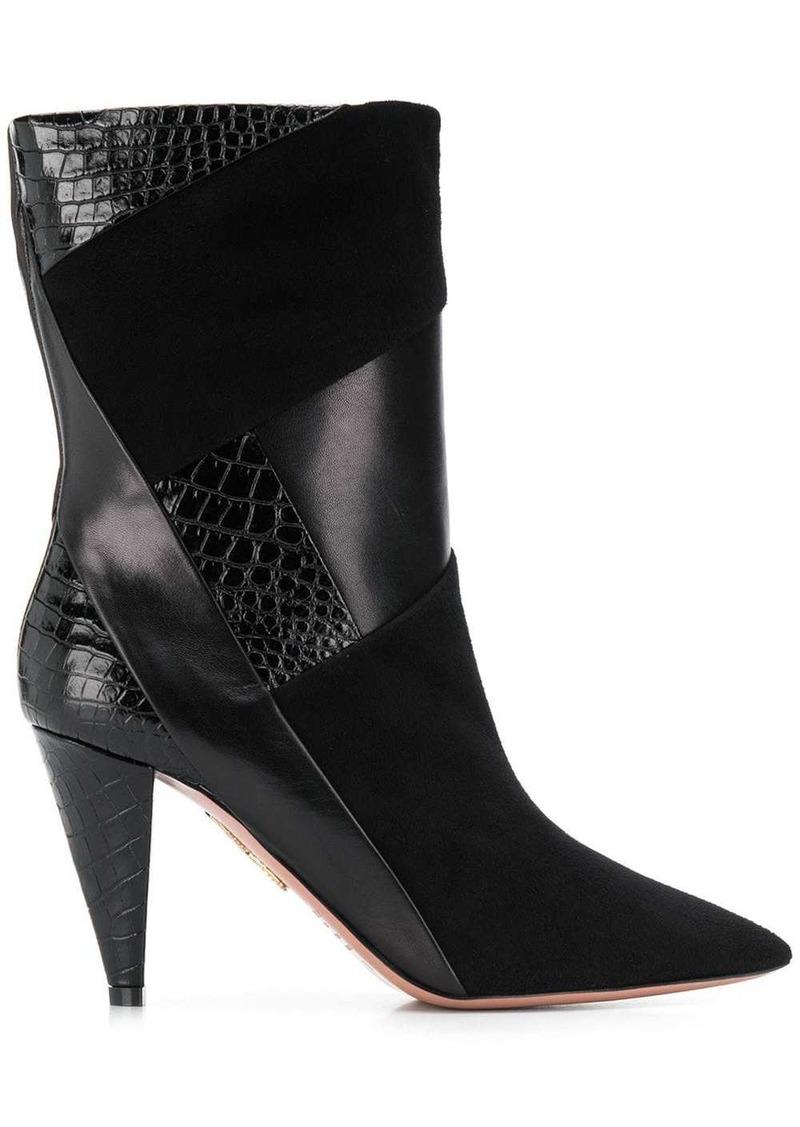 Aquazzura pointed toe boots