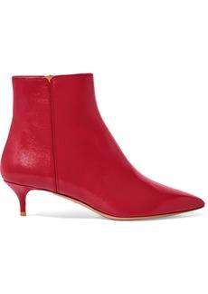 Aquazzura Quant Leather Ankle Boots
