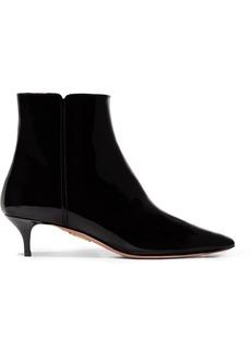 Aquazzura Quant Patent-leather Ankle Boots