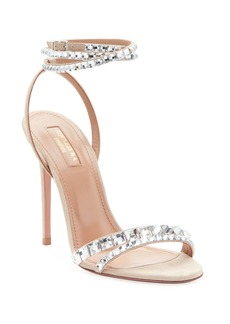 Aquazzura So Vera Embellished Sandals
