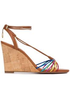 Aquazzura strappy wedge sandals
