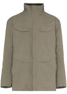 Veilance hooded parka jacket