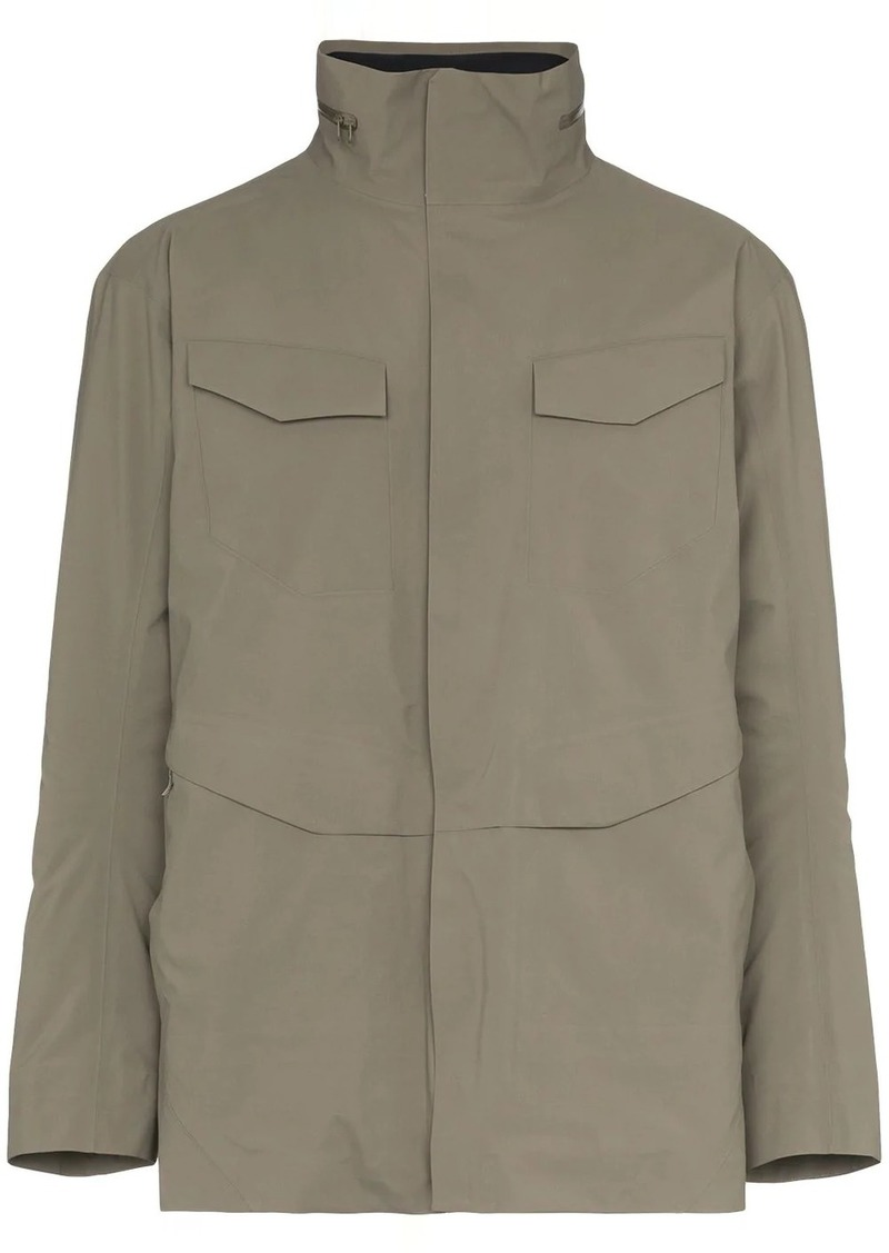 Arc'teryx hooded parka jacket