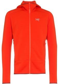 Arc'teryx Red KYANITE HD Polartec® Power Stretch® Pro layering hooded jacket
