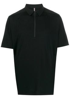 Veilance zipped collar polo shirt