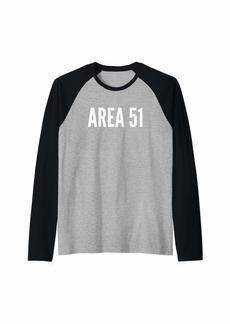 Area 51 Raglan Baseball Tee