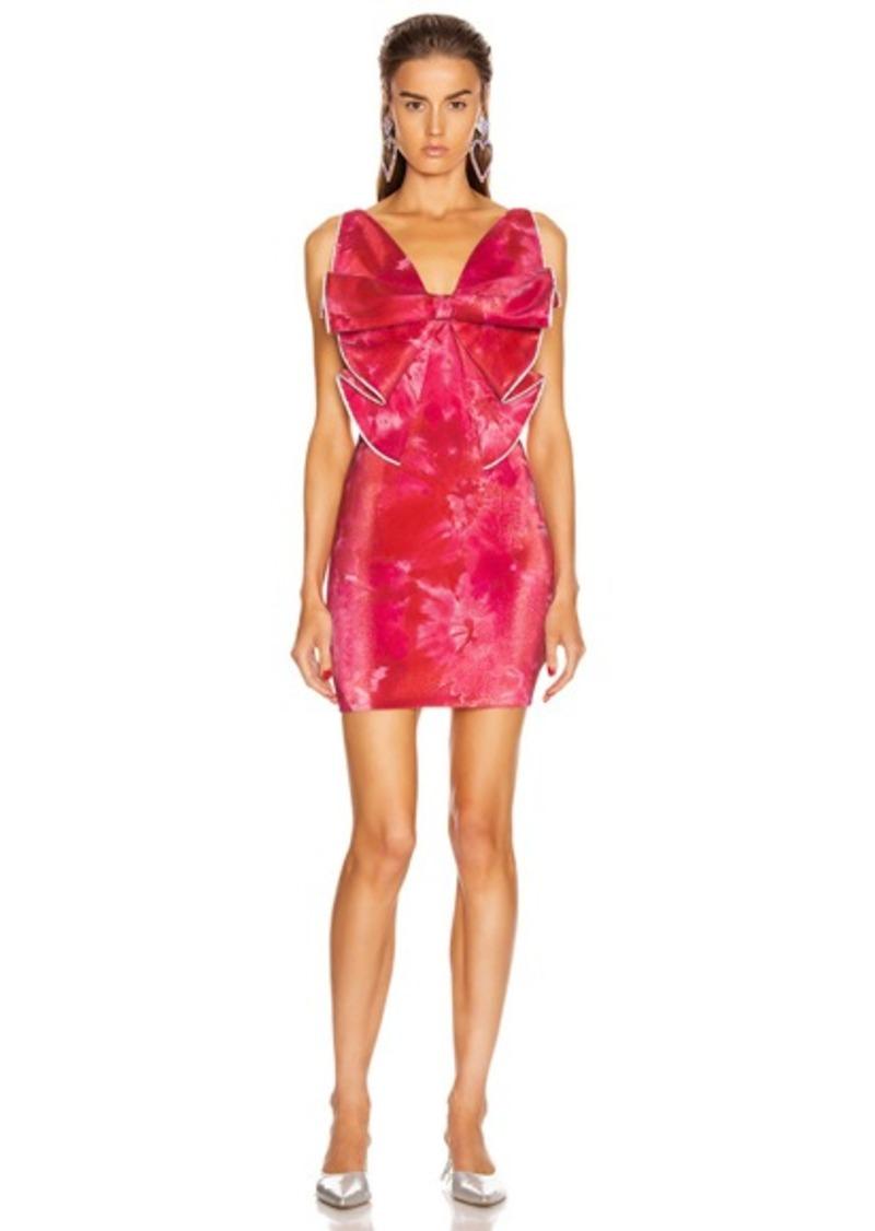 AREA Bow Dress