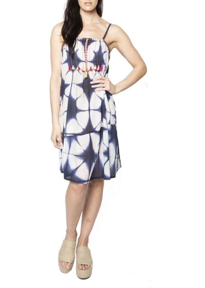 Area Stars Batik Tassel Dress